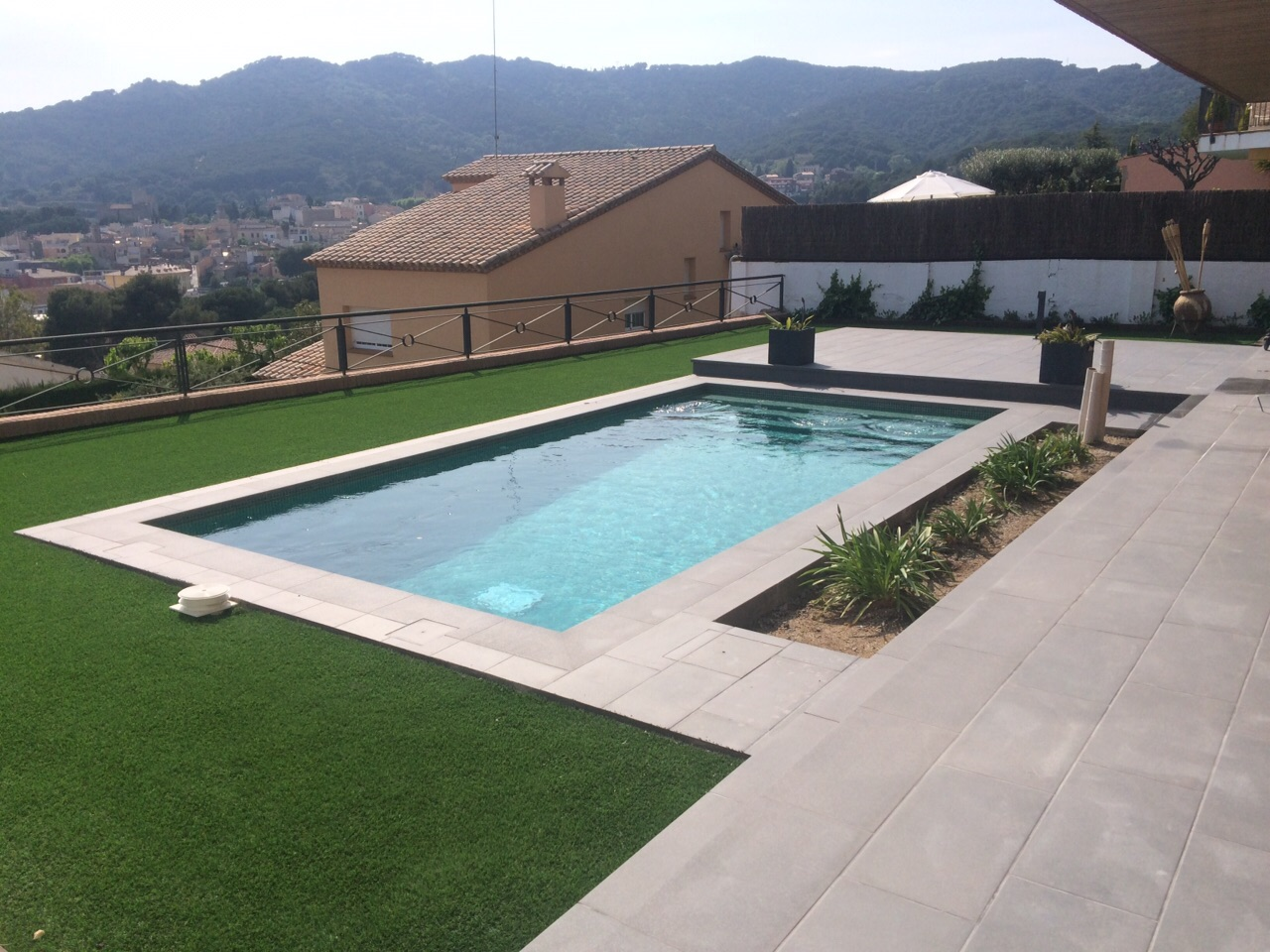 construcci n piscina vilassar de mar piscinas aop