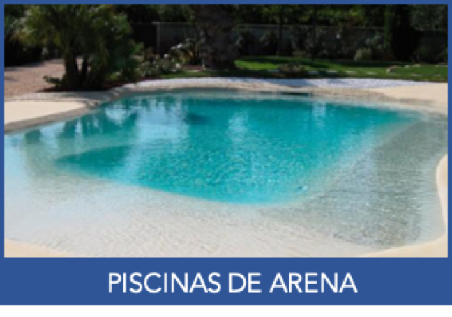 PISCINAS DE ARENA HOME